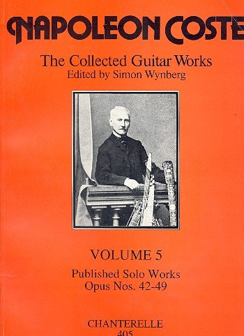 9780906700228: The guitar works of Napol˜eon Coste