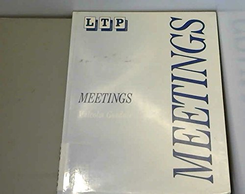 9780906717455: Meetings: Ten Simulations on International Topics