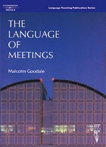 9780906717462: The Language of Meetings: English Language Teacher at the United Nations in Geneva