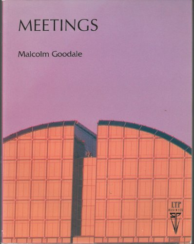 9780906717585: Meetings: Ten Simulations on International Topics