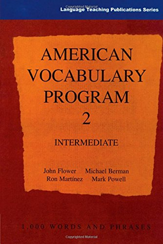 American Vocabulary Program 2: Intermediate (Language Teaching Publications) (9780906717707) by John Flower
