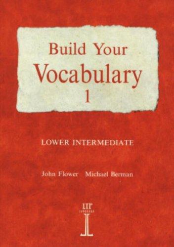 9780906717769: Build your vocabulary. Per le Scuole superiori: 1