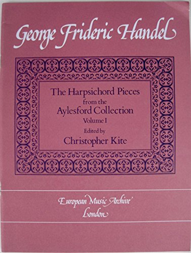 9780906773062: Harpsichord pieces from the aylesford collection, vol. 1