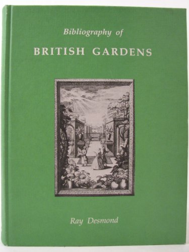 9780906795156: Bibliography of British Gardens (St. Paul's Bibliographies)