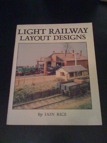 9780906867945: Light Railway Layout Designs
