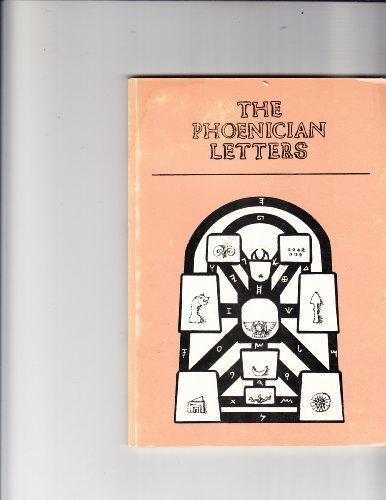 9780906868003: Phoenician Letters
