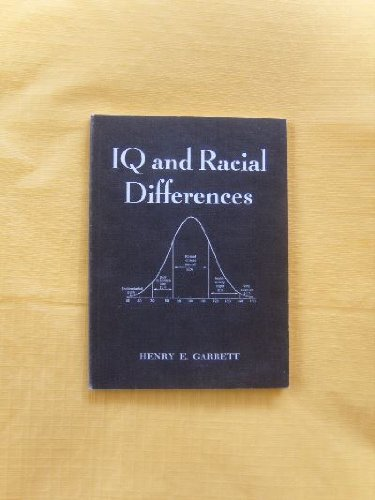 9780906879351: I. Q. and Racial Differences