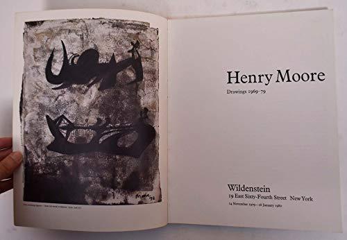 9780906909003: Henry Moore: Drawings, 1969-79