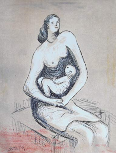 9780906909034: Mother and Child Etchings