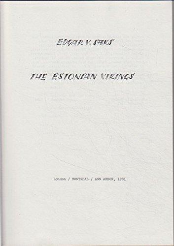 9780906967102: The Estonian Vikings