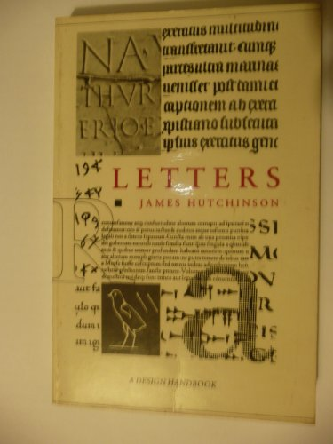 Letters (Design Handbooks): Hutchinson, James