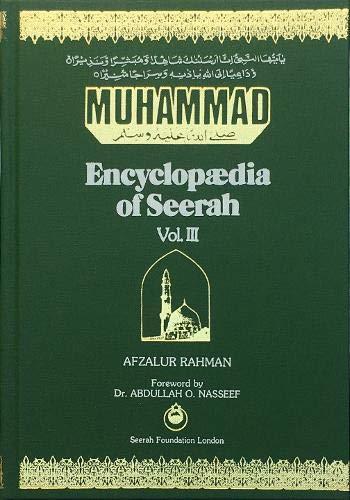 9780907052173: Muhammad - Encyclopaedia of Seerah: v. 3