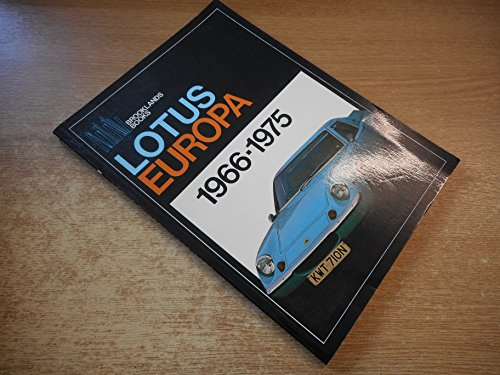Lotus Europa 1966-1975: Clarke, R. M. (compiled by)