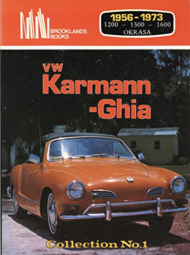 9780907073352: Vw Karmann-Ghia Collection: Number One