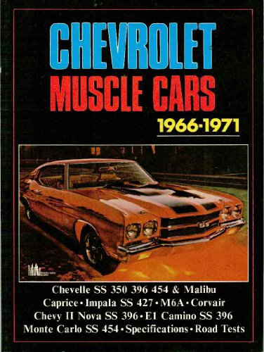 Chevrolet Muscle Cars, 1966-1971 (Brooklands Books Road Tests Series): Clarke, R. M.