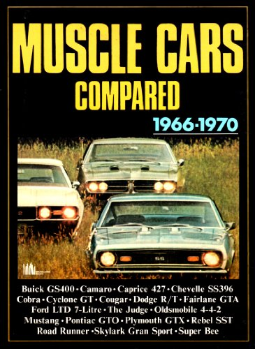 9780907073628: Muscle Cars Compared 1966-1970 [Paperback] by Clarke, R.M.