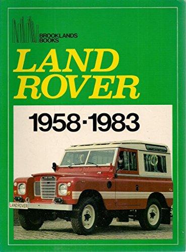 9780907073833: Land Rover 1958-1983