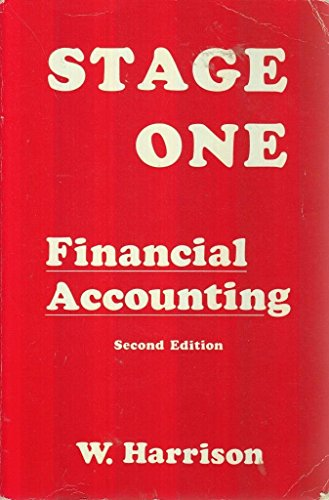 9780907135388: Stage One Financial Accounting