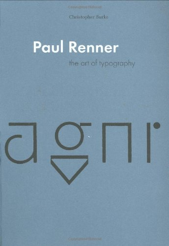 9780907259121: Paul Renner: The Art of Typography