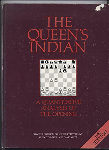 9780907352136: The Queen's Indian; a Quantitative Analysis of the Opening