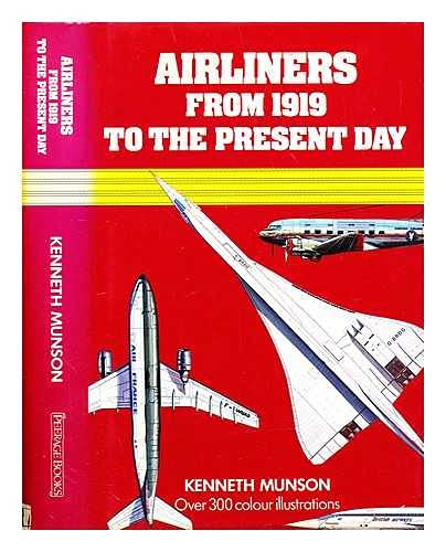 9780907408369: Airliners from 1919 to the Present Day