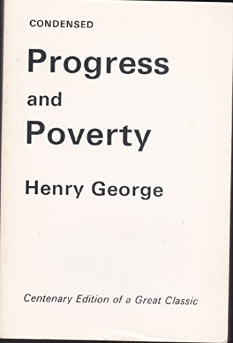 9780907444077: Progress and Poverty