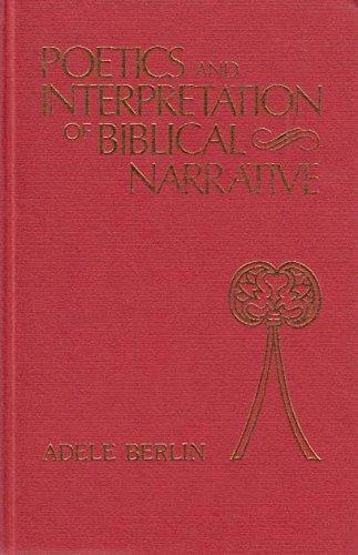 9780907459231: Poetics and Interpretation of Biblical Narrative (Bible & Literature Series)