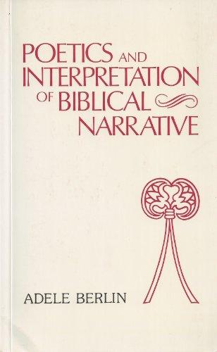 9780907459248: Poetics & Interpretation of Biblical Narrative