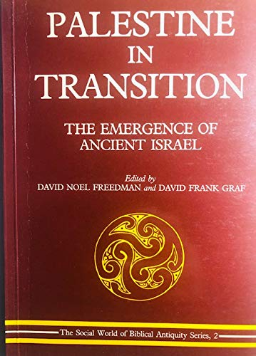 9780907459330: Palestine in Transition: The Emergence of Ancient Israel
