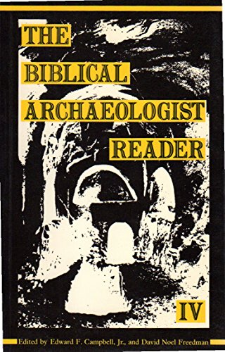 9780907459354: The Biblical Archaeologist Reader, IV (v. 4)