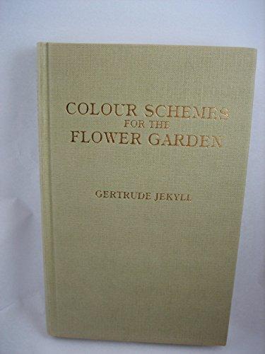 9780907462170: Colour Schemes for the Flower Garden