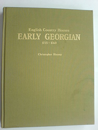 Early Georgian 1715-1760: Hussey, Christopher'
