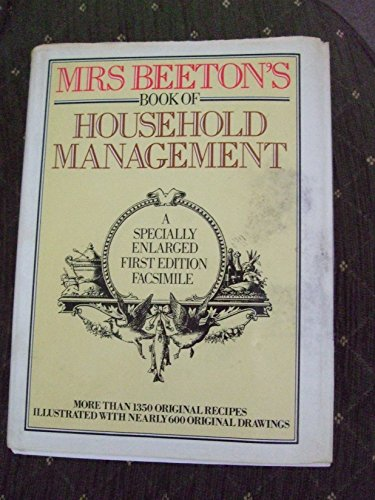 9780907486183: MrsBeeton's Book of Household Management: A Specially Enlarged First Edition Facsimile