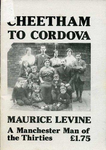 Cheetham to Cordova: Maurice Levine - A: Levine, Maurice