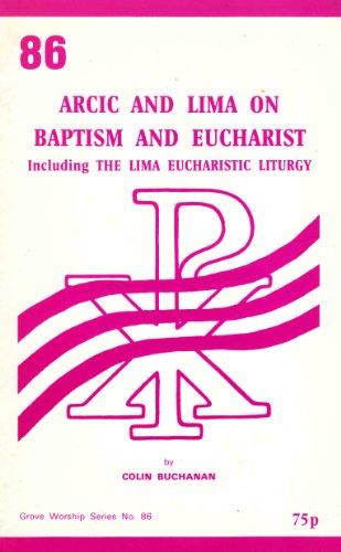Anglican-Roman Catholic International Commission and LIMA on: Buchanan, Colin