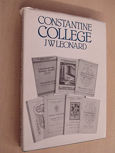 Constantine College.: Leonard, James