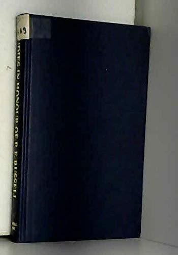 Mediaeval and Renaissance Studies on Spain and: Hodcroft, F. W./Pattison,