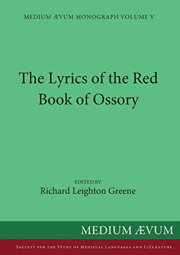 9780907570691: The Lyrics of the Red Book of Ossory