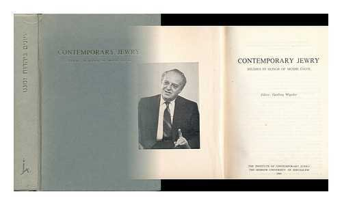 9780907582731: Contemporary Jewry - Studies in Honor of Moshe Davis
