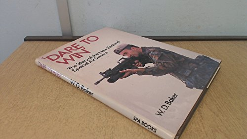 9780907590200: Dare to Win: Story of the New Zealand Special Air Service