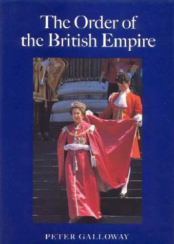 9780907605652: The Order of the British Empire