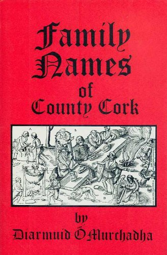 9780907606307: Family names of County Cork