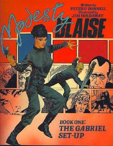 9780907610373: Modesty Blaise: Gabriel Set-up Bk. 1