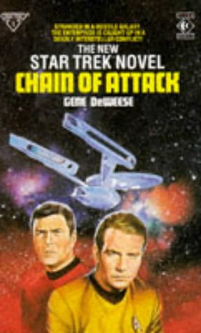 9780907610854: Chain of Attack (Star Trek 1)