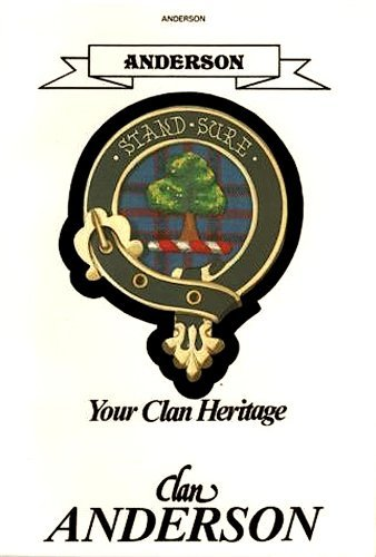 Anderson Your Clan Heritage: Mcnie, Alan