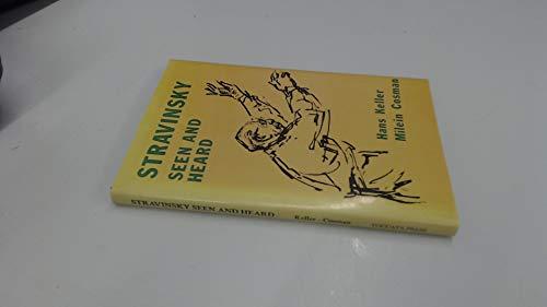 9780907689010: Stravinsky Seen and Heard