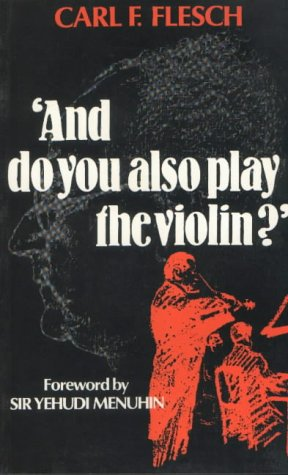 9780907689379: And do you also play the violin?