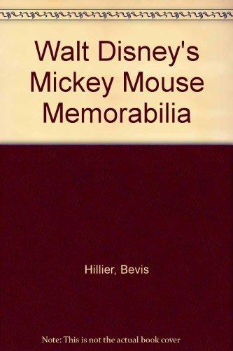 9780907724117: Walt Disney's Mickey Mouse Memorabilia