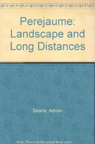 9780907738350: Perejaume: Landscape and Long Distances