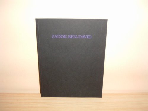9780907773108: Zadok Ben-David